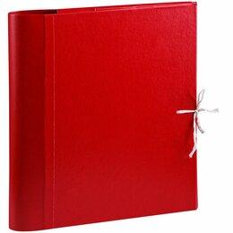 Папки и системы архивации - Папка архивная с мягк. клапанами OfficeSpace покрытие БВ с 4 завязк. 239071, 0
