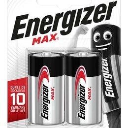 Батарейки - Элемент питания алкалиновый MAX LR14/343 BL2 (блист.2шт) Energizer E3023..., 0