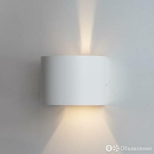 Уличный настенный светодиодный светильник Italline IT01-A310R white по цене 3990₽ - Уличное освещение, фото 0