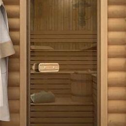 Двери - Дверь для сауны ИЗ ТЕРМОСТЕКЛА, 0