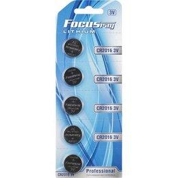 Батарейки - Батарейки Focusray CR2016 BL5, 0