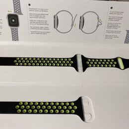 Аксессуары для умных часов и браслетов - Ремешок для apple watch 44 mm, 0