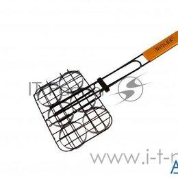 Решетки - Решетка гриль Diolex Dx G1911 B для гамбургеров 20x15cm на 6 порций  сталь с ..., 0