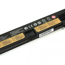 Аксессуары и запчасти для ноутбуков - Аккумулятор для ноутбука Lenovo ThinkPad E575 (01AV415) 14,4V 2200mAh OEM, 0
