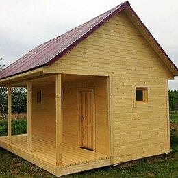 Готовые строения - Каркасная баня с верандой, 0
