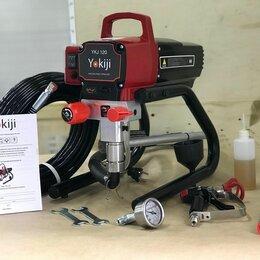 Инструменты для нанесения строительных смесей - Yokiji ykj 120 окрасочный аппарат безвоздушный, 0