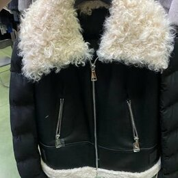 Костюмы - Куртка мужская кожаная зима, 0