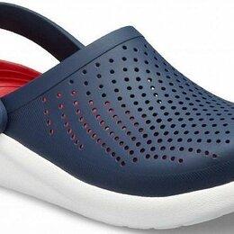 Сабо - Обувь crocs literide clog - navy/melon, 0