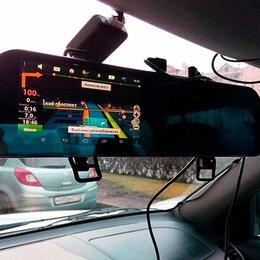 Автоэлектроника и комплектующие - Зеркало регистратор с камерой заднего вида, 0