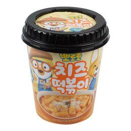 Продукты - Рисовые клёцки токпокки со вкусом сыра Пороро Grunamu, стакан 110 г, 0