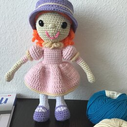 Куклы и пупсы - Вязанная кукла ., 0