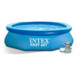 Бассейны - Бассейн Easy Set + фильтр-насос 220В (28122), 0