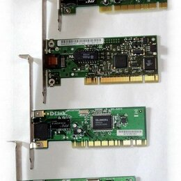 Сетевые карты и адаптеры - Сетевые карты PCI для интернета, 0