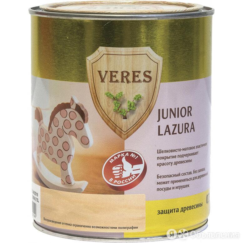 Пропитка VERES Junior Lazura №24 по цене 962₽ - Пропитки, фото 0