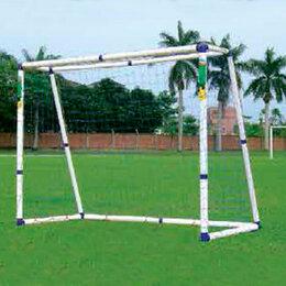 Аксессуары и принадлежности - Ворота для футбола DFC GOAL244B 8ft пластик, 0