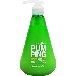 Зубная паста - Зубная паста Perioe Breath Care Pumping Toothpaste, освежающая, 285 г, 0