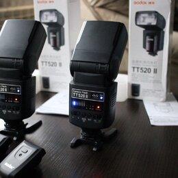 Фотовспышки - Фотовспышка Godox TT 520 ii с синхронизатором, 0
