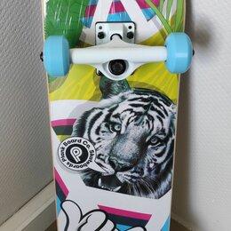 Скейтборды и лонгборды - Скейтборд для трюков PLANK PTIGY 31x8, 0
