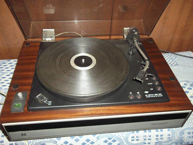 """Электропроигрыватель """"радиотехника-001-стерео"""" по цене 3000₽ - Проигрыватели виниловых дисков, фото 0"""