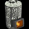 Печь банная Violet World Short Window Max Grill`D (Нержавеющая сталь AISI 439... по цене 128573₽ - Камины и печи, фото 0
