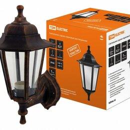 Уличное освещение - TDM НБУ 06-60-001 светильник уличный/садовый 60W E27 220B шестигр. креп верх/..., 0