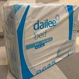 Пеленки, клеенки - Dailee bed extra пеленки 60x90 30 шт, 0