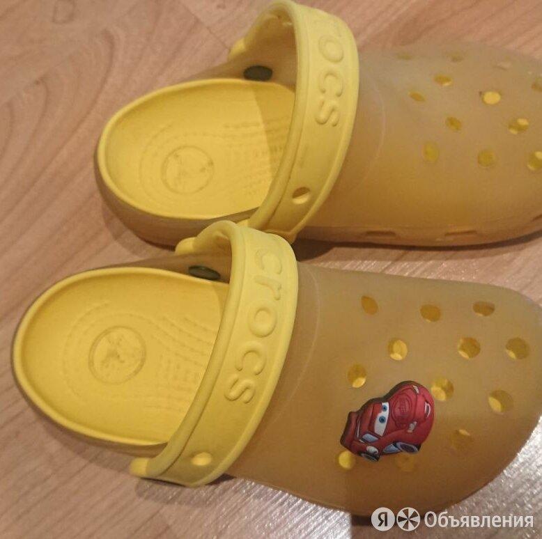 Шлепанцы желтые CROCS, 10-11 по цене 400₽ - Шлепанцы, фото 0