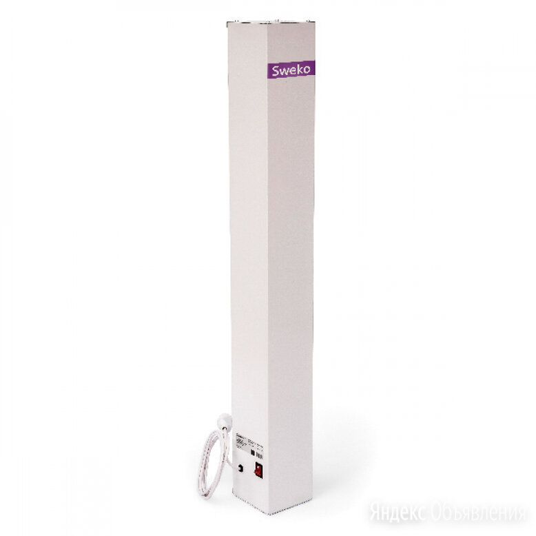 Бактерицидный рециркулятор воздуха Sweko SAP-UVC-1XT8-15W-SM-T1-WH по цене 10001₽ - Очистители и увлажнители воздуха, фото 0