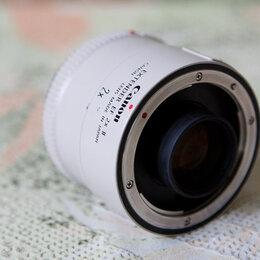 Адаптеры и переходные кольца - Canon extender EF 2x II, 0