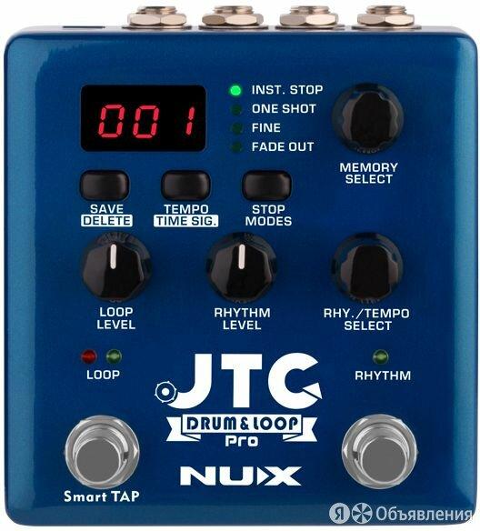 Nux NDL-5 JTC Drum&Loop Pro Педаль эффектов по цене 13150₽ - Ударные установки и инструменты, фото 0