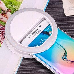 Наушники и Bluetooth-гарнитуры - Светодиодное кольцо для телефона с USB, 0