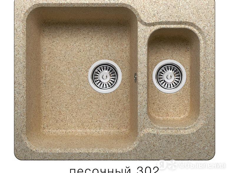 Мойка Polygran F-09 №302 (Песоч) по цене 6200₽ - Кухонные мойки, фото 0