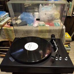 Проигрыватели виниловых дисков - Проигрыватель виниловых пластинок Радиотехника ЭП-101 стерео, 0
