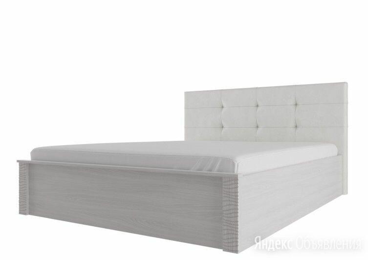 """Мс """"гамма 20"""" кровать двойная (универсальная) с мягким изголовьем1,4*2 по цене 28670₽ - Кровати, фото 0"""
