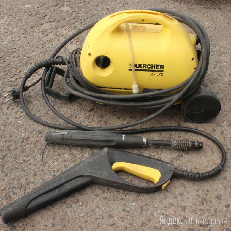 Мойка высокого давления karcher K 4.70 M / под ремонт по цене 4500₽ - Мойки высокого давления, фото 0
