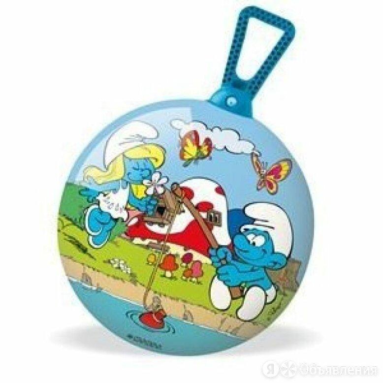 Мяч попрыгунчик Cмурфы 360° 45 см 06/926u Mondo по цене 2106₽ - Мячи и прыгуны, фото 0