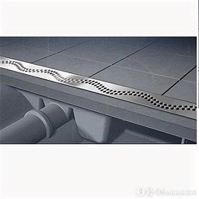 Трап Alcaplast Simple в комплекте с решеткой 550мм хром матовый APZ7-550M по цене 7584₽ - Комплектующие, фото 0