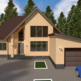 Готовые проекты, методики, технологии - Проект дома с гаражом и мансардой 203 м. кв., 0