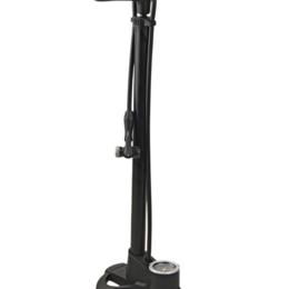 Насосы и комплектующие - Велонасос AUTHOR AAP Air Turbo2 напольный, алюминий, с манометром, черный, 8-1, 0