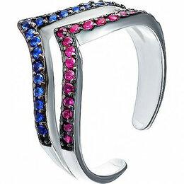 Кольца и перстни - Element47 кольцо серебро вес 1,62 вставка фианит арт. 743844, 0