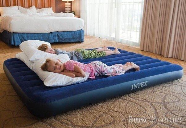 Надувной матрас кровать  по цене 1500₽ - Надувная мебель, фото 0