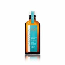 Маски и сыворотки - Восстанавливающее масло LIGHT для тонких светлых волос 100мл, Moroccanoil, 0