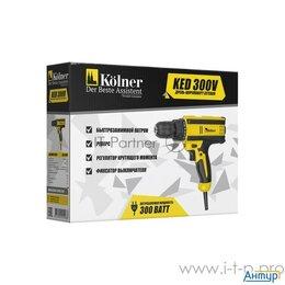 Рубанки - Дрель ударная электрическая Kolner Ked 300v  300 Вт, 0- 800 об/мин, быстрозаж..., 0