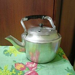 Чайники - Чайник алюминиевый СССР 4 литра     , 0