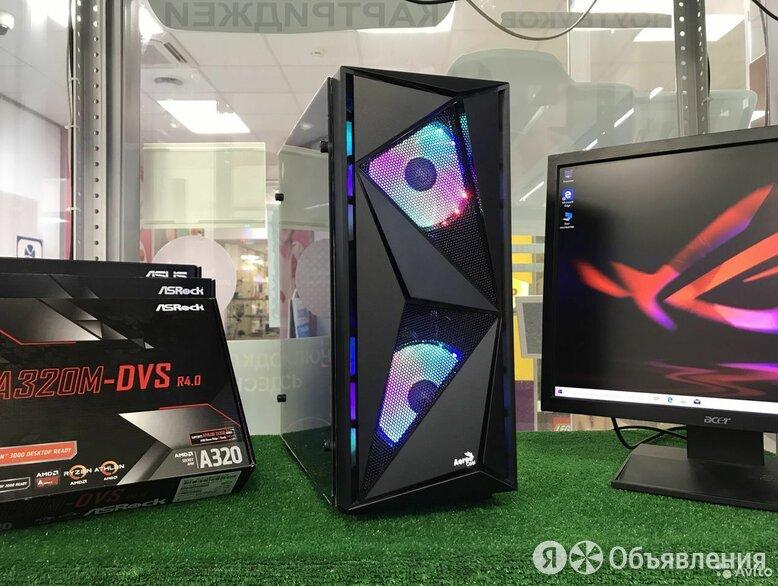 Ryzen DDR4 16Gb SSD120 HDD500 GT1030 по цене 29850₽ - Настольные компьютеры, фото 0