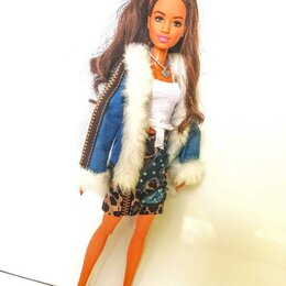 Аксессуары для кукол - Одежда для Барби: куртка и юбка., 0