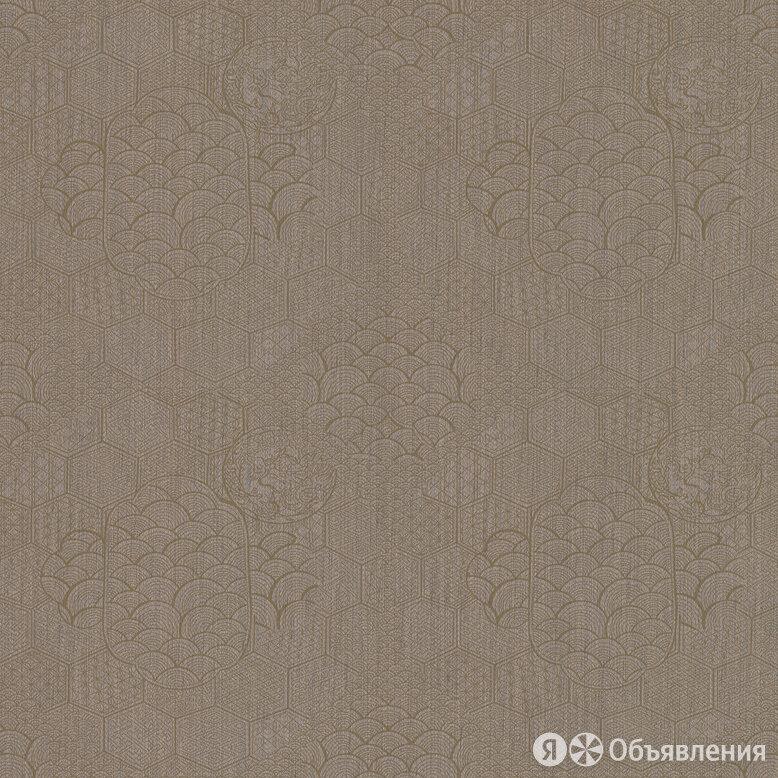 Обои текстильные Armani / Casa Graphic Elements 1 (0,70х1,00) орнамент, корич... по цене 4800₽ - Обои, фото 0