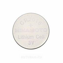 Батарейки - Батарейка Minamoto CR-2016, 0