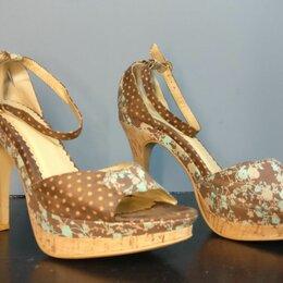Туфли - Туфли женские 38 размер на высоком каблуке, 0
