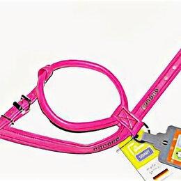 Шлейки  - Шлейка для собак MODERN ART R&S LUXUS 45/11 (30/37-43 см) кожзам розовый , 0